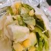 ランチ日記 #92 サラディッシュのラップサラダ